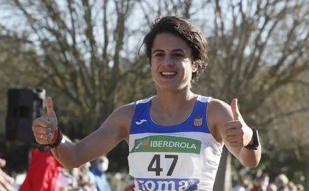 María Pérez se corona por tercera vez campeona de España de 20 km marcha