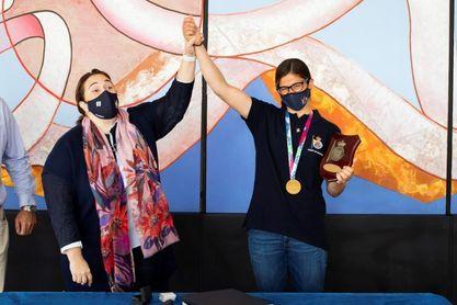 Patricia Cantero, campeona del mundo: Ahora toca mejorar y dar el máximo en Tokio