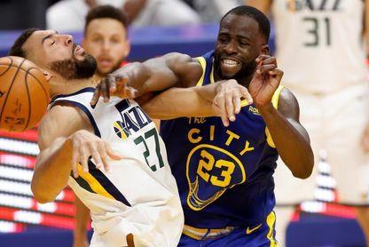 Green aporta triple-doble en la victoria de los Warriors por 131-119 sobre Jazz