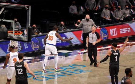 117-112. Irving y Harden deciden a favor de los Nets el duelo neoyorquino