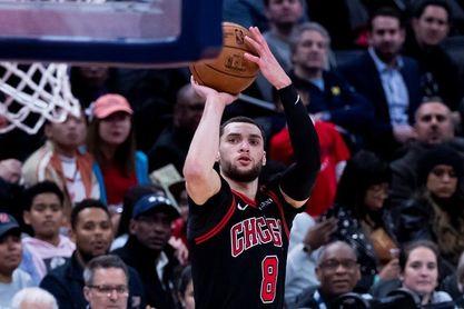 123-102. LaVine, 40 puntos, y Bill Donovan gana con Bulls a su exequipo
