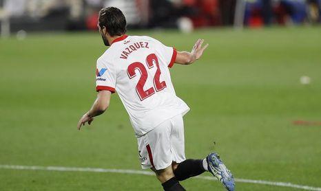 """Mudo Vázquez: """"Hace dos años intenté un gol igual. Hoy, por suerte, entró"""""""