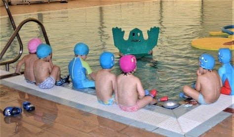 Nuevos cursos de natación infantil en el SADUS
