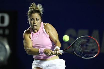 La mexicana Renata Zarazúa a segunda ronda