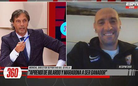 """El """"gen bilardista"""" de Monchi, el """"luto"""" cuando pierde el Sevilla y unos piropos que han revolucionado Argentina"""