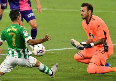 El Real Valladolid suspende su entrenamiento tras el positivo de Roberto