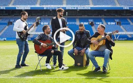 Así suena la adaptación flamenca del himno de la Real para la final de Copa en Sevilla