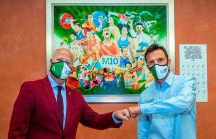 El campeón del mundo Carlos Marchena se incorpora al programa 'Mentor 10' de la Junta