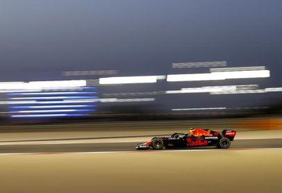 'Checo' Pérez, satisfecho tras su primer día con el Red Bull