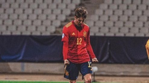Miranda, en el once ideal de la jornada del Europeo sub 21.