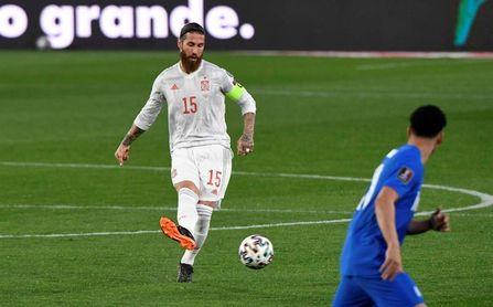 Ramos no sufre molestias y el cambio estaba pactado