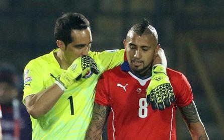 Arturo Vidal estalla contra Claudio Bravo