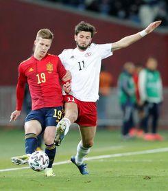 1-2. Dani Olmo resucita a España