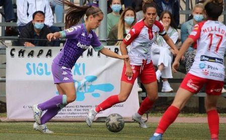 Santa Teresa 0-2 Betis Féminas: Victoria clave ante un rival directo.
