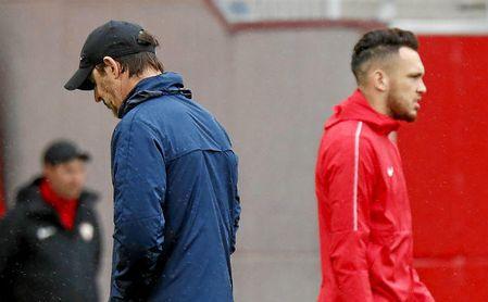 Ocampos, aun estando feliz en el Sevilla, no descarta dar un salto en su carrera.