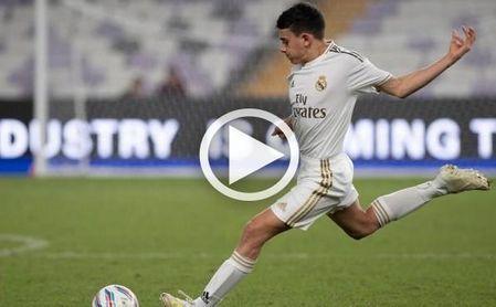 De tal palo, tal astilla: el enésimo golazo del hijo de Reyes con el Cadete B del Real Madrid