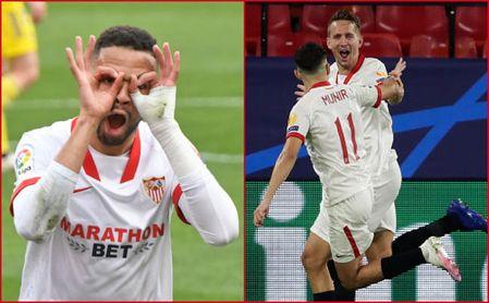 El Sevilla presume de pegada para afrontar la recta final de LaLiga