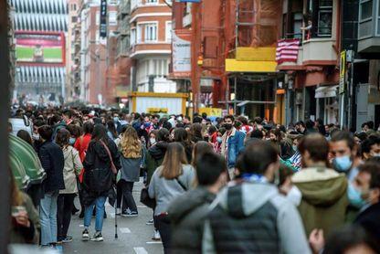 Incidentes en Bilbao, con una joven trasladada a un hospital.