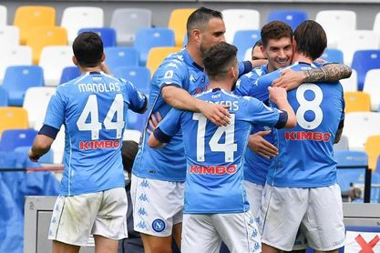 El Nápoles aumenta la presión sobre la Juventus