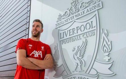 """Adrián, que acaba contrato en Liverpool: """"Estamos hablando""""."""
