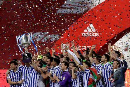 """Pedro Sánchez felicita a la Real Sociedad por este """"histórico triunfo"""""""