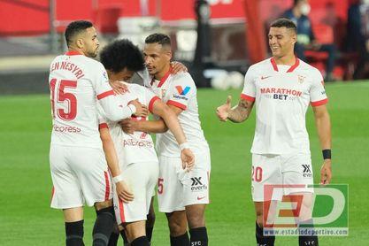 El Sevilla FC derrotó con justicia al líder, el Atlético de Madrid.