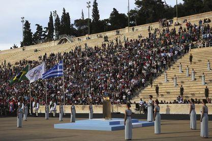 El silencio marca en Atenas los 125 años de las primeras Olimpiadas modernas