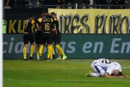 2-2. Cerro Largo logra agónico empate ante Peñarol