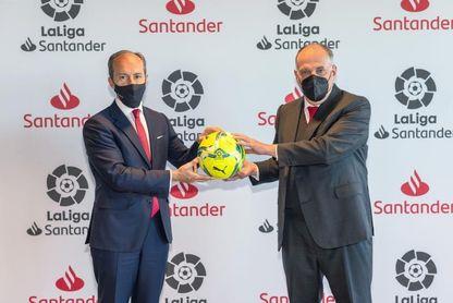 LaLiga y Banco Santander renuevan su acuerdo de colaboración