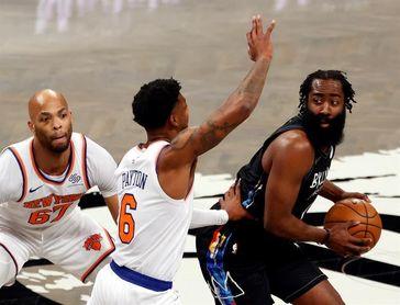Los Nets pierden a Harden por unos 10 días y esperan la vuelta de Durant