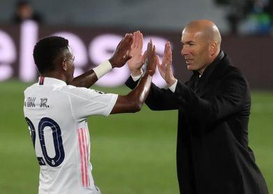 """Zidane: """"Vinicius se lo merece"""""""