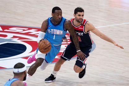 102-93. Wall le gana el duelo a Doncic y a los Mavericks para que los Rockets corten su racha perdedora