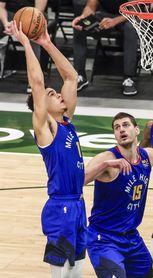 106-96. Ante Spurs, Jokic logra 25 puntos y séptimo triunfo de Nuggets; Campazzo, titular