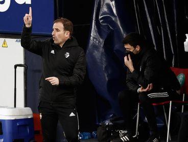 Arrasate solo ha conseguido una victoria contra el Villarreal
