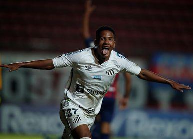 """""""Inolvidable"""", dice Ângelo Gabriel, el más joven en marcar en la Libertadores"""
