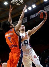 86-81. Un Tenaz Valencia elimina al Baskonia pero su top 8 depende del Zenit