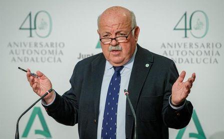 La Junta de Andalucía reconoce un rechazo del 20 % a la vacuna de AstraZeneca.