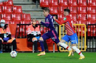 Óscar Plano se añade a las bajas del Real Valladolid ante el Granada