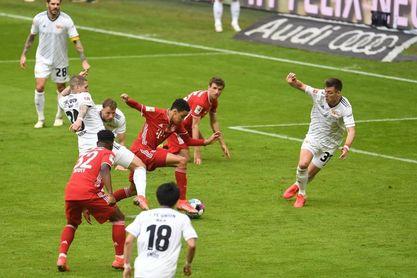 El Bayern no pasa de un empate ante el Union y Leipzig golea al Bremen