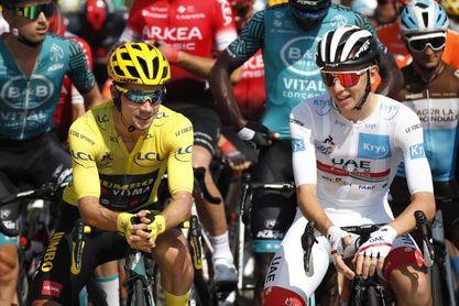 La Itzulia de Roglic y Pogacar, inolvidable guiño al Tour 2023