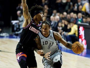 117-119. DeRozan gana el duelo a Doncic y los Spurs se imponen a los Mavericks