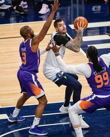 126-120. Suns logran 18 triples en primera parte y empatan marca de la NBA