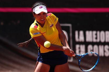 La colombiana Osorio, segunda mejor latinoamericana en la clasificación WTA