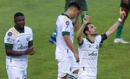5-0. El colombiano Yimi Chará marca 'hat trick' y los Timbers pasan a cuartos