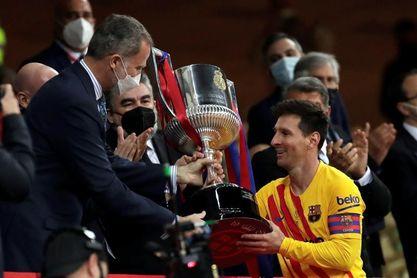 0-4. El Barcelona gana con solvencia y brillantez su título número 31 de Copa