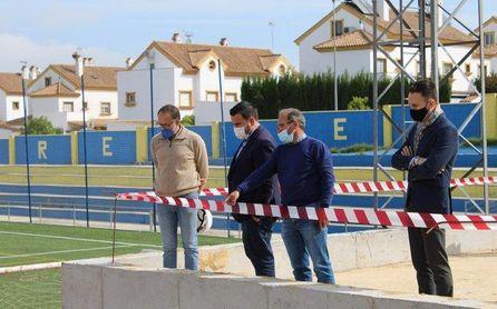 Avanzan las reformas del estadio Nuevo San José de Gines