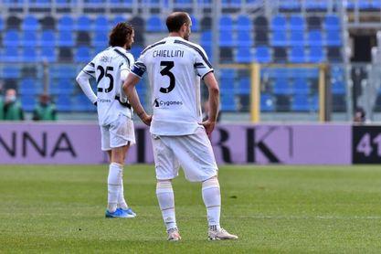El Juventus, sin Cristiano, se estrella en Bérgamo y dispara las alarmas
