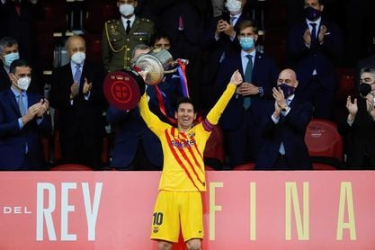 """Messi:""""Es muy especial ser el capitán de este club; es una Copa muy especial"""""""