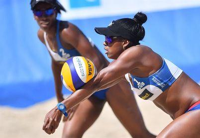 Pareja cubana arranca con buen pie en el Tour Mundial de Voleibol de playa