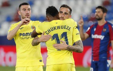 Levante 1-5 Villarreal: Asalta la quinta plaza a lo grande